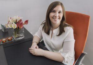 Blanca Fernández Tobar: trabaja como psicóloga en el centro de Madrid