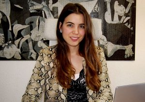 Lorena Alfaro Torres: trabaja como psicóloga en el centro de Madrid